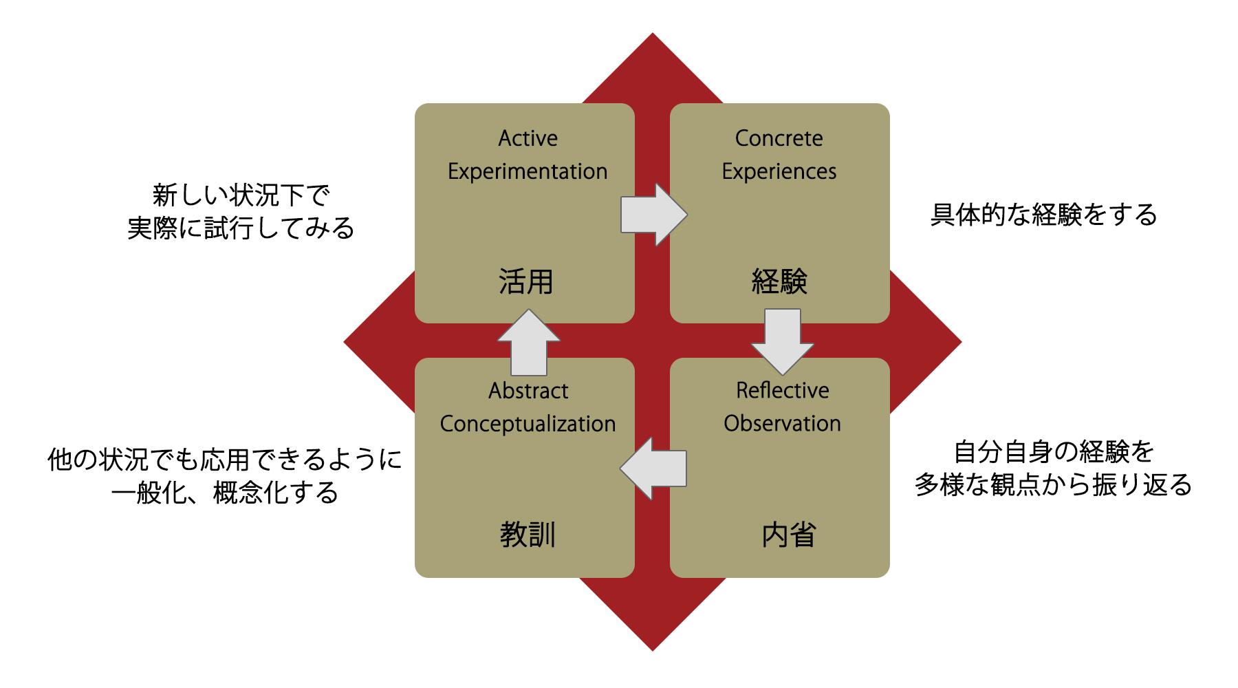 コルブの学習サイクル